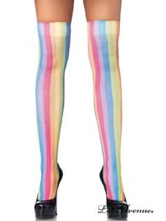 Bas Arc-en-Ciel multicolorés - Leg Avenue