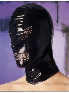 Masque latex avec ouvertures